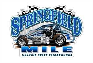 Picture of Springfield Mile car decal