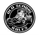 Picture of Old School sprint car decal